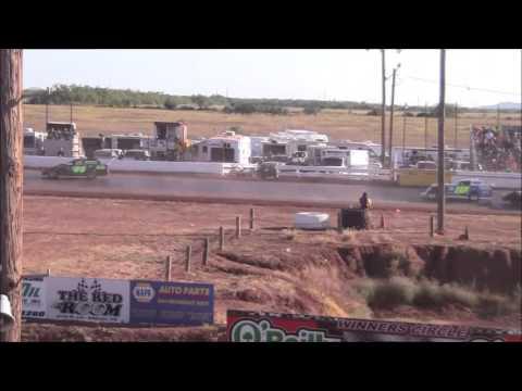 IMCA Sport Mods at Abilene Speedway 10-18-15