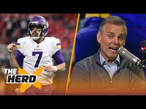 Colin Cowherd compares Case Keenum to Baker Mayfield, Talks Sammy Watkins to Chiefs | THE HERD