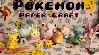 Pokemon Paper Craft GIVEAWAY!!! [CLOSED]