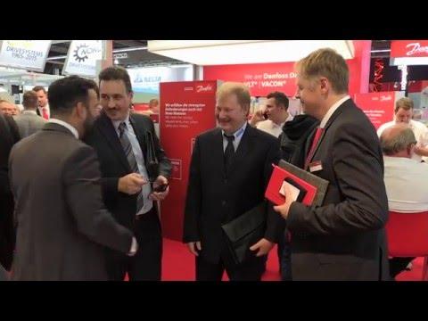 Danfoss Drives At SPS, Germany 2015
