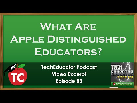 Creating a Great Apple Distinguished Educator Application | ADE