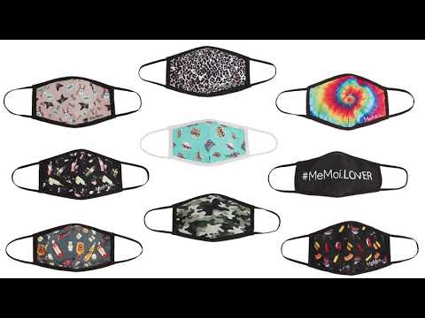 Fashion Masks with 5-Layer Filter Inserts   MeMoi