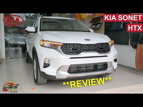 KIA SONET HTX DETAILED REVIEW ! EVERYTHING YOU MUST KNOW BEFORE BUYING 🔥🔥
