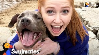 Sick Girl Meets Dog Who Completely Changes Her Life | The Dodo Soulmates