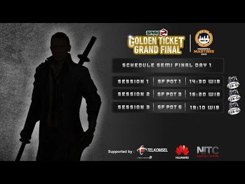GAMEZ GOLDEN TICKET SQUAD | SEMI FINAL DAY 1