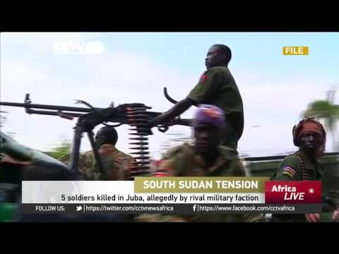 5 soldiers killed in Juba, allegedly by rival military faction