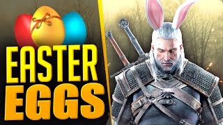 10 of the Best Witcher Easter Eggs