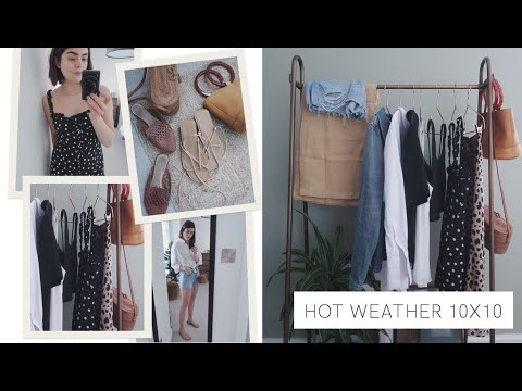 10 Items, 10 Outfits | Hot Weather Holiday Edition | The Anna Edit 8