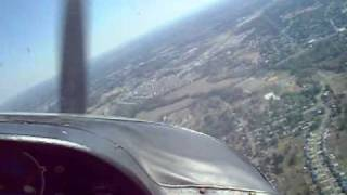 Cessna 177 Cardinal Flying out of Vine Grove