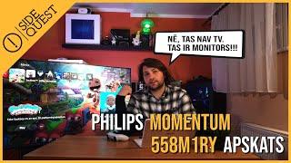 Philips 558M1RY apskats - TV aizvietotājs?