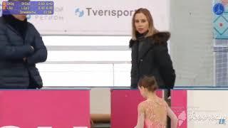 Елена КОСТЫЛЕВА Короткая программа Первенство России 2020 младший возраст