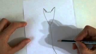 Рисуем быстро и просто. Как нарисовать Лису очень просто.(Это видео уроки рисования для детей, с помощью которых можно нарисовать рисунок даже без навыков рисования., 2015-10-27T11:53:19.000Z)