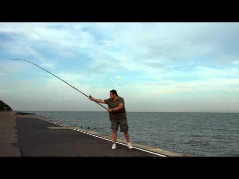John Holden: the fishing pendulum cast in slow motion