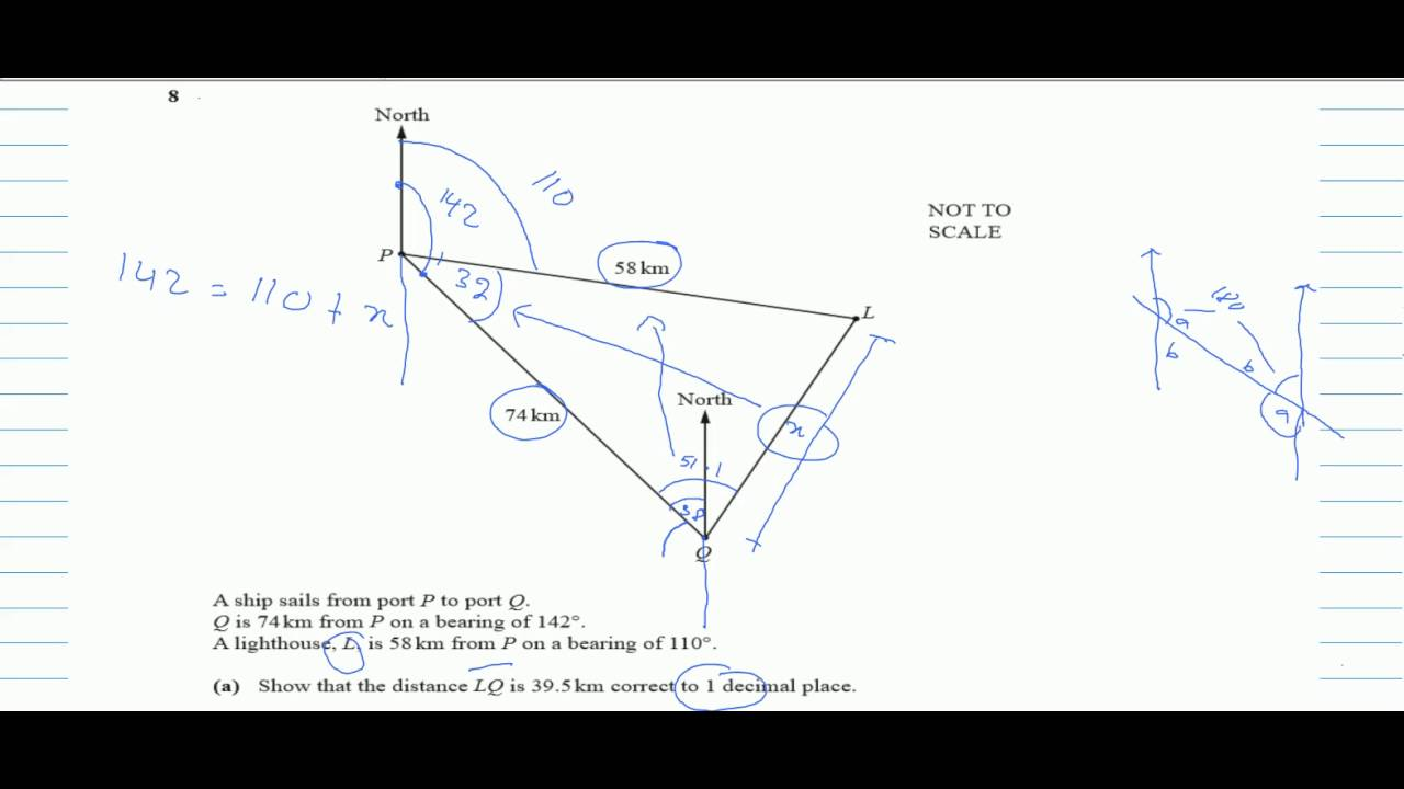 REQUEST┇QUESTION 8┇ IGCSE MATHS 0580 ┇ PAPER 4 (42) ┇OCT