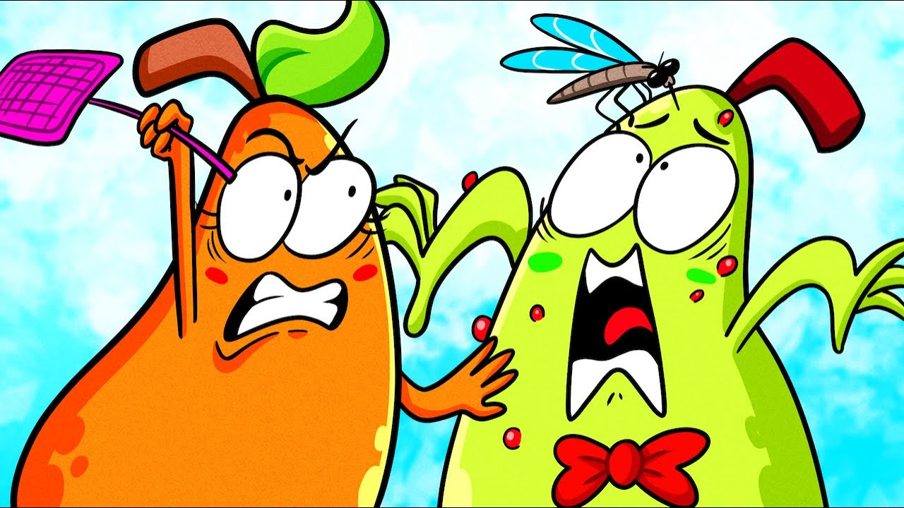 How to Stop a Crazy Mosquito    Survival Guide by Pear Couple