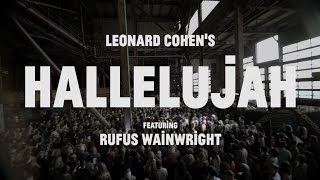 Choir Choir Choir Epic Nights Rufus Wainwright 1500 Singers Sing Hallelujah