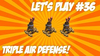 "★CLASH OF CLANS | LET'S PLAY ""TOWNHALL 7 CHANGES!"" Triple Air Defense + New Members Live Episode 36★"
