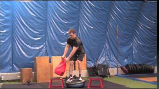 Great Alpine Skiing Specific Training Exercise