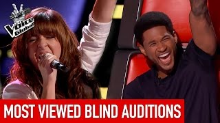 Repeat youtube video The Voice | MOST VIEWED Blind Auditions