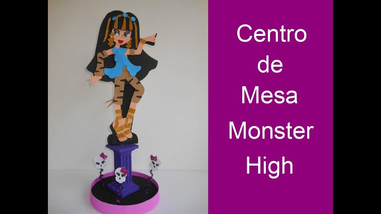 Centro de Mesa Monster High - YouTube