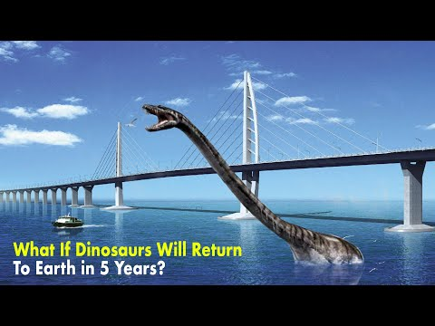 Dinosaurs Will Return to Earth in 5 Years