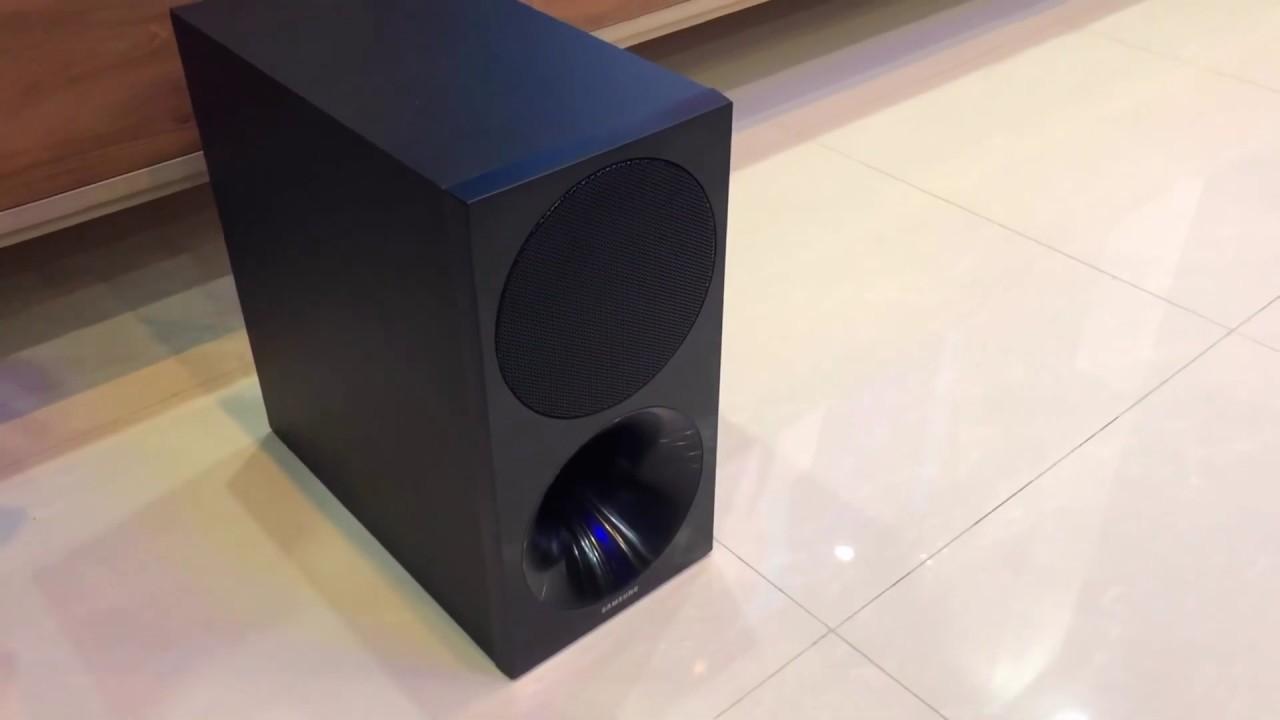 Loa thanh Samsung HW-M450 - nghe nhạc, xem phim cực đã