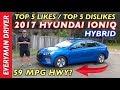 Here's my 2017 Hyundai Ioniq Hybrid Blue Review on Everyman Driver