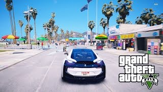 GTA V BMW i8 REAL-LIFE GRAPHICS MOD! INSANE GTA V REDUX MOD [GTA V GAMEPLAY]