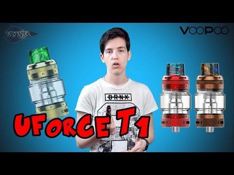 Atomizador / Uforce T1 Tank de Voopoo / Cloud chasing / Revisión en español