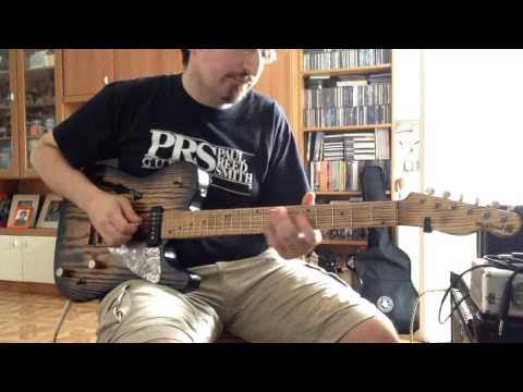(FREE LESSON) Alan Jackson - Chattahoochee guitar intro and solo by Andrea Cesone