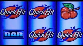 QUICK HIT Wild Blue ✦LIVE PLAY✦ Slot Machine Pokie at Harrahs and San Manuel SoCal