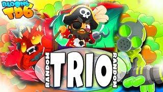 Pierwsze takie starcie | Random Trio | Bloons TD6 PL