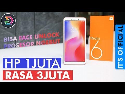 XIAOMI REDMI 6 INDONESIA | HP MURAH JUGA BISA NGEBUT | IT'S OFFICIAL | SPESIFIKASI DAN HARGA