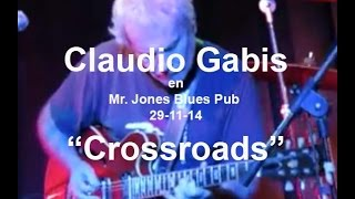Crossroads - Claudio Gabis - Mr. Jones Blues Pub (29-11-14) - vog.206