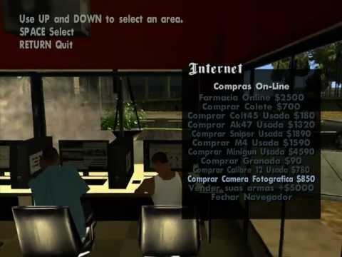 Ganton Cyber Cafe Mod v1.0