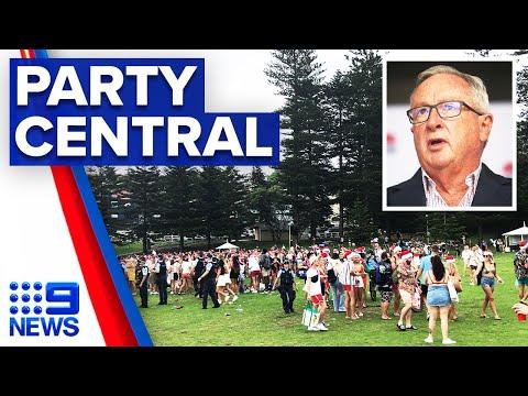 Concerns over potential Bronte Beach super spreader event | 9 News Australia thumbnail