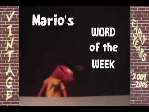 Mario's Word of the Week - En Masse