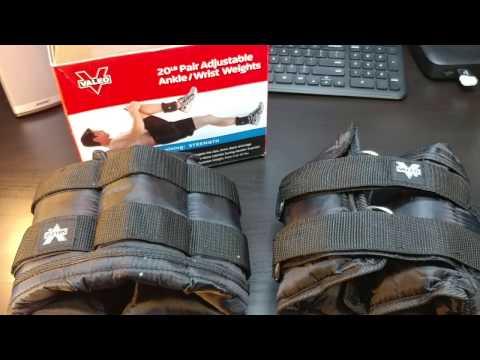 valeo-adjustable-ankle-/-wrist-weights
