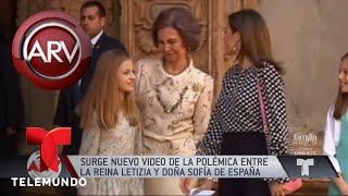 Así va el pleito entre la reina Letizia y doña Sofía| Al Rojo Vivo | Telemundo