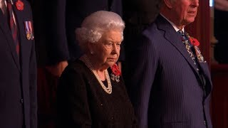 The Queen attends the Festival of Remembrance