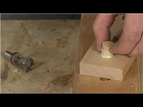Home Remodeling Tools : How to Use a Plug Cutter