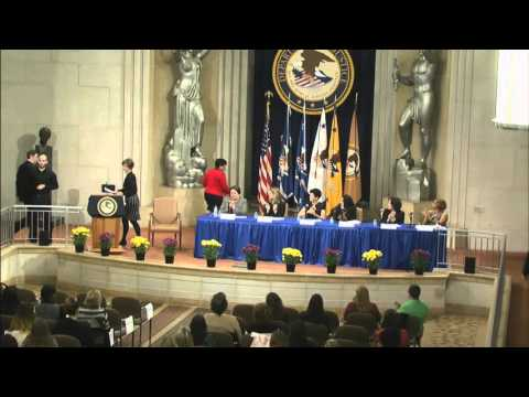2016 Department of Justice Women's History Month Observance Program