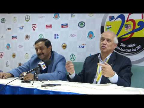 Interview with FIH President Leandro Negre at Sultan Azlan Shah Cup 2016