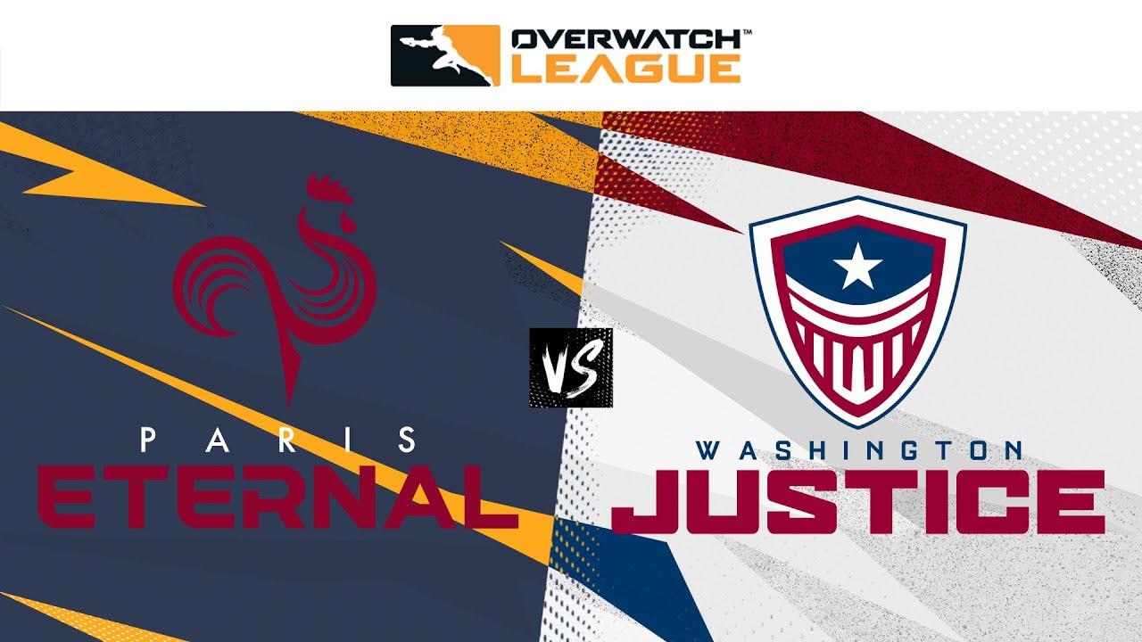 @Paris Eternal vs @Washington Justice  | Summer Showdown Qualifiers | Knockouts — West