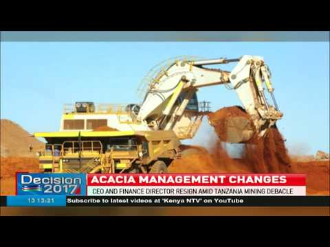 Acacia CEO And Finance Director Resign Amid Tanzania Mining Debacle