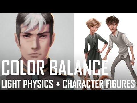 Critique Hour! Color Balance, Light Physics and Character Figures!
