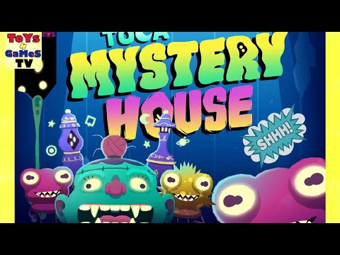 Toca Mystery House All Secret Rooms  | Game Play Apps For Kids