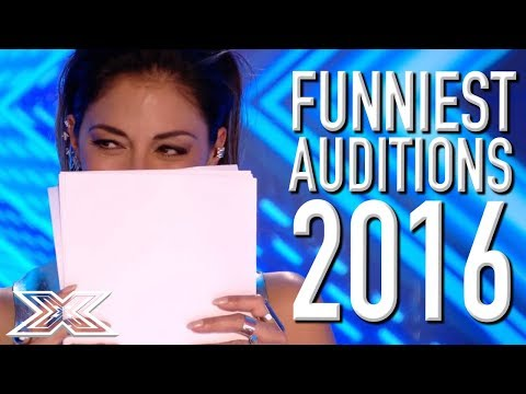 FUNNIEST X Factor UK Auditions From 2016! | X Factor Global