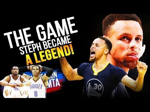 THE GAME Steph Curry BECAME a LEGEND 2016 02 27 at Thunder   46 Pts 12 3s CLUTCH!  