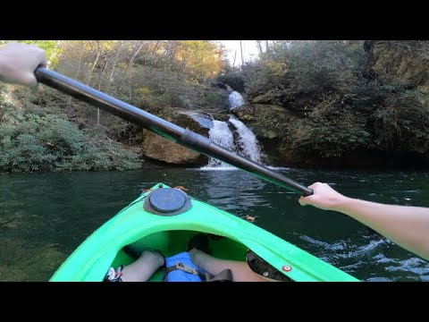 Go Waterfall Hunting on One of the Carolinas' Prettiest Lakes